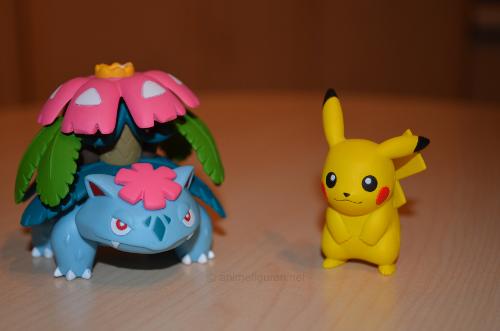 Pikachu und Bisaflor